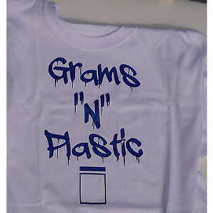 Grams t shirt wht blu